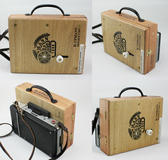 pinhole camera UPMANN (akulis2) Tags: camera handmade pinhole gift land cigarbox homebrewed polaroid100