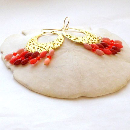 Sunset Dreams Hoop Earrings