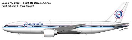Avión Oceanic Airlines 815