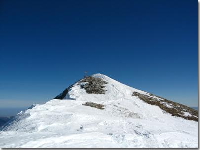Vetta del Monte Tibert