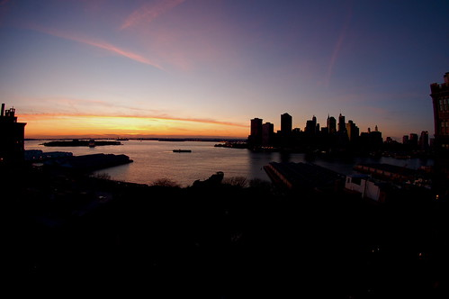 Just another Brooklyn sunset