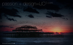 Brighton_Pier_and_Starlings_11024x640.jpg (imjustcreative) Tags: sunset wallpaper beach landscape photography brighton coastal desktoppicture desktoppictures starlings brightonpier flockofbirds desktopphoto desktopphotos wallpaperiphotoedited