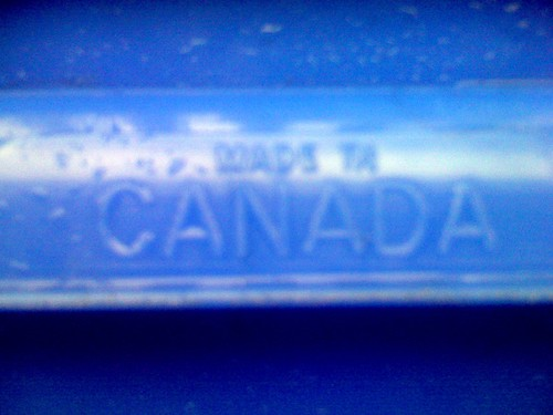 Made in Canada - Boston Recycling Bin Side