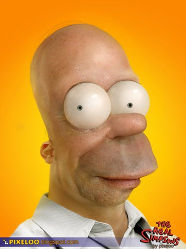 Reanimando a Homer Simpson con Photoshop ceslava 0