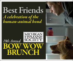 Michigan Humane Society's Bow Wow Brunch