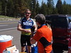 Cyclists on Blewett Pass