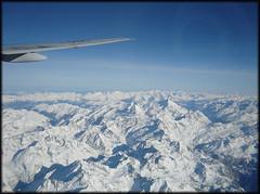 Le Alpi (**SaMo**) Tags: trip travel mountain snow alps plane airplane wing ala neve boeing alpi 777 montagna viaggio aereo alitalia b777 idiso