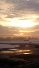 First touchdown in Oslo (lunaryuna) Tags: travel flight journey touchdown oslo airport weather weathermood winter season seasonalbeauty lunaryuna airplane light thelightfantastic