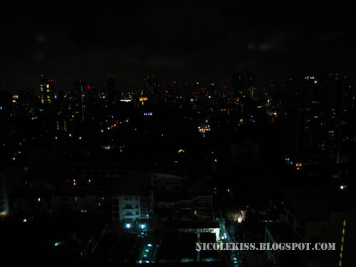 bangkok view from amari hotel at night