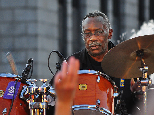 Clyde Stubblefield at the Monona Terrace