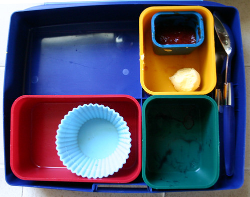 Preschool Bento #211: He ate it ALL!