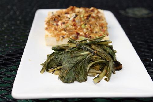 Meat-Free Friday: Korean Baked Tofu and Spicy Dandelion Greens 2