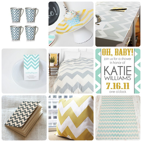 Design Inspiration: Chevron Stripes