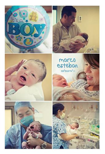 Marco Esteban - El día del Nacimiento