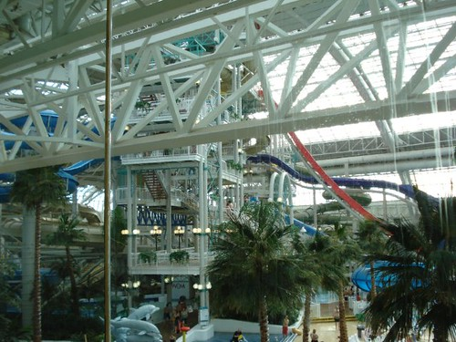 Huge Water slides