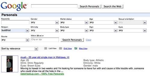 Google Personals?