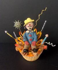 Remember, remember ...... (abbietabbie) Tags: cake fireworks guyfawkes explore bonfire cupcake cmc fondant buttercream blueribbonwinner 5thnovember