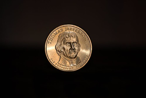 Thomas Jefferson Presidential Dollar
