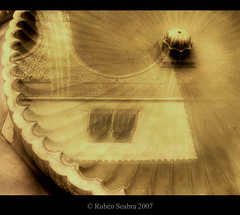 * Reflection * (*atrium09) Tags: espaa reflection water fountain sepia architecture spain arquitectura searchthebest fuente olympus arab alhambra granada arabe reflejo hdr spagna photomatix atrium09 mywinners artlibre diamondclassphotographer megashot rubenseabra thegardenofzen thegoldendreams