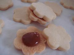 Dulce De Leche Shortbread Sandwich Cookies