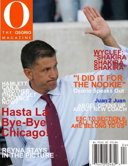 THE OSORIO MAGAZINE image for The Offside Rules
