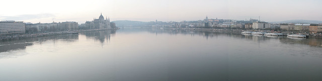 Budapest Panorama - Hazy Morning