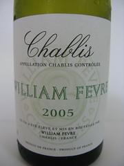 2005 Domaine William Fvre Chablis (Daniel (Jiuwine.com)) Tags: william domaine fvre