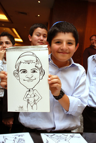 Caricature birthday party 301207 7