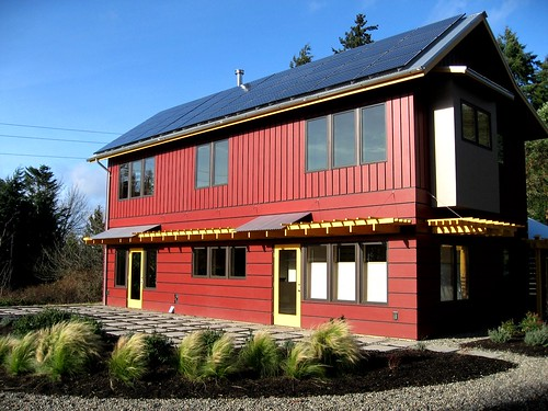 1st LEED Home on Bainbridge Island,modern,house,design