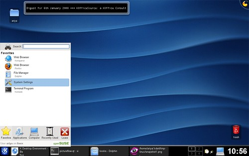 KDE 4.0 on OpenSUSE 10.2
