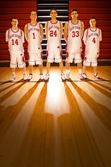 St John's Basketball Freshmen (Alexander Pierce Johnson) Tags: portrait men basketball spread newspaper teams team varsity jersey players feature basketballteam 10faves superbmasterpiece alexanderjohnson saintjohnsbasketball