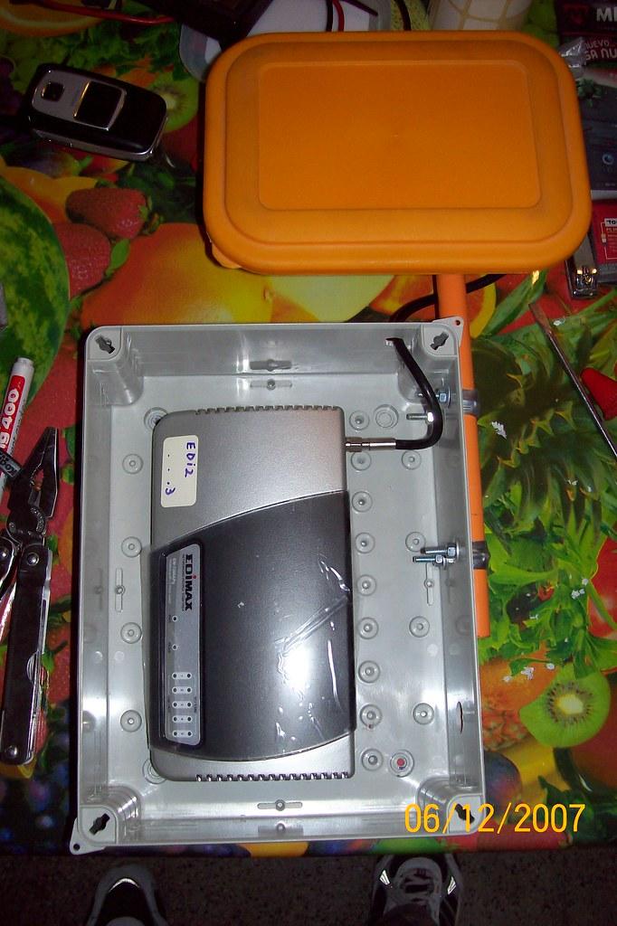 AP Caja y Antena
