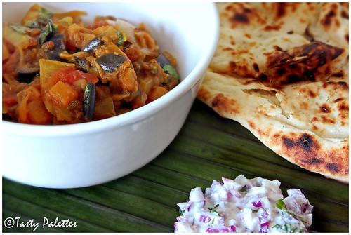 Eggplant And Pumpkin Curry