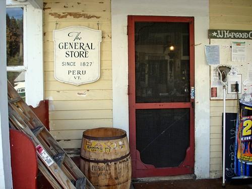 The General Store, Peru, VT