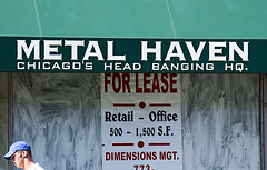 Times Are Tough (swanksalot) Tags: haven window sign metal retail office strangers forlease headbangers swanksalot sethanderson headbanginghq