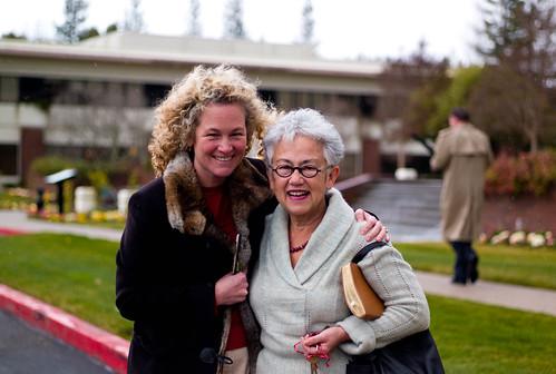 Carrie and Della van Heyst
