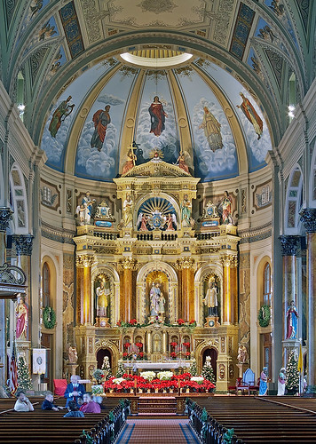Saint Joseph Shrine, in Saint Louis, Missouri, USA - sanctuary