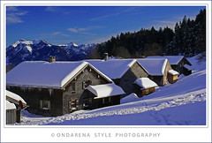 Winter in the Alps ... (G.Hotz Photography (busy as a bee =)) Tags: autumn winter summer house mountain lake holiday ski alps macro art nature berg architecture austria photo dornbirn feldkirch sterreich spring foto fotograf fotografie sommer kunst sony herbst natur hard picture bregenz tourist hobby gerald photograph photoraphy tele 100 alpha bodensee constance wandern tourismus bludenz frhling fruehling oesterreich vorarlberg markro bregenzerwald hotz blueribbonwinner golddragon mywinners anawesomeshot aplusphoto superbmasterpiece diamondclassphotographer bersteigen theperfectphotographer ondarena