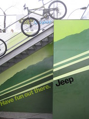 Jeep ad exploits bicycles