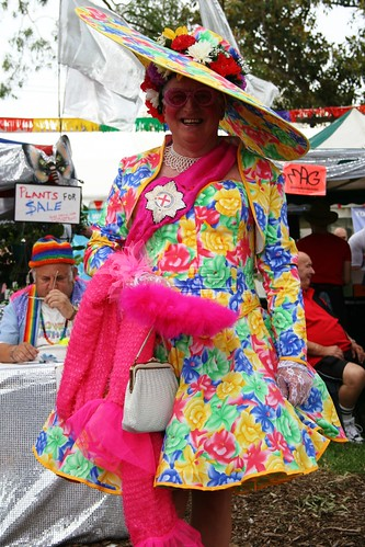 A Grande Dame At Mardi Gras Fair Day