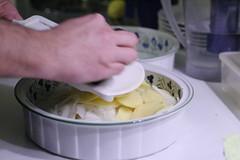 Mélange patates / oignon