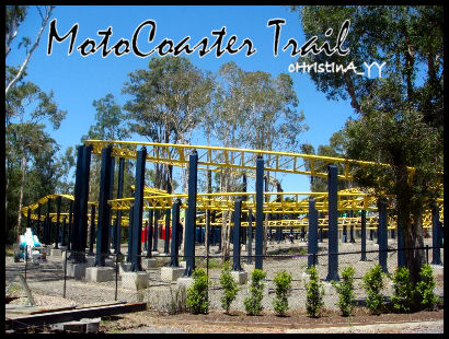Big 6 Thrill Rides: MotoCoaster Trail