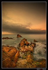 Cannes Beach #2 (French Riviera) (Eric Rousset) Tags: longexposure sea sky seascape france beach clouds photoshop landscape photography coast reflex bravo rocks europe raw cs2 cannes stones sony wideangle ctedazur ciel filter adobe bec 1020mm 2008 plage dri rochers photomanipulated hoya bpp frenchriviera alpesmaritimes dynamicrangeincrease nd400 333views blueribbonwinner firstquality digitalblending sigma1020 poselongue vob supershot outstandingshots fineartphotos alpha100 abigfave sonydslra100 artlibre colorphotoaward superaplus flickrplatinum superbmasterpiece skracic infinestyle favemegroup4 diamondclassphotographer flickrdiamond megashot bratanesque excellentphotographerawards mediterraneensea hoyand400 elitephotography betterthangood theperfectphotographer piproduction ericrousset filtregrisneutre alemdagqualityonlyclub thebestwaterscapes ericroussetphotography