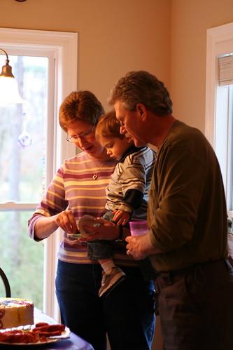 Grandma Jayne, Pops and Walker