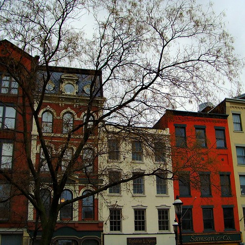 Friendly Buildings in Downtown Syracuse