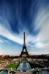 France - Paris - Eiffel Tower - difused (Darrell Godliman) Tags: travel sky copyright cloud paris france building travelling tourism architecture clouds buildings arquitectura frankreich europe eiffeltower dramatic eu landmark icon toureiffel champdemars architektur trocadero iconic fr francia soe architettura allrightsreserved architectuur  parigi mimari palaisdechaillot trocadro architecturalphotography rpubliquefranaise travelphotography gustaveeiffel    famousbuildings   instantfave 5photosaday  larchitecture mywinners omot    travelphotographer globalicon flickrelite dgphotos darrellgodliman wwwdgphotoscouk architecturalphotographer dgodliman