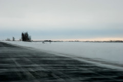 Poudrerie (Marlandova) Tags: road winter snow cold ice vent wind hiver route neige froid 116 glace poudrerie frette glissant balayer bourrasque