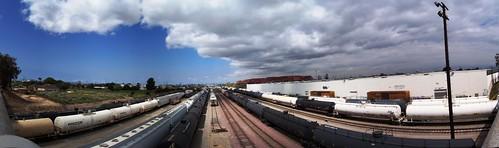 Same trains I saw in Texas (Los Angeles, California, USA)