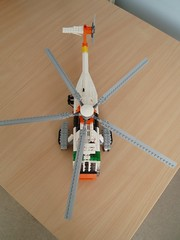 UH-3H Sea King (8) (Mad physicist) Tags: model lego military helicopter usnavy seaking sikorsky uh3h