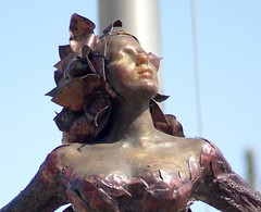 Magdaline (corydalus) Tags: sculpture chicago art public greek gbrearview grantpark rearview mythology gapersblock chicagoreader dessakirk magdaline